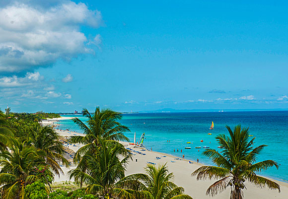 Varadero, one of the best beaches in the world