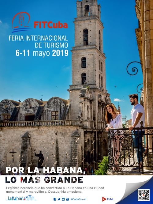 International Tourist Fair 2019 from May 6th to 11th in Havana, Cuba