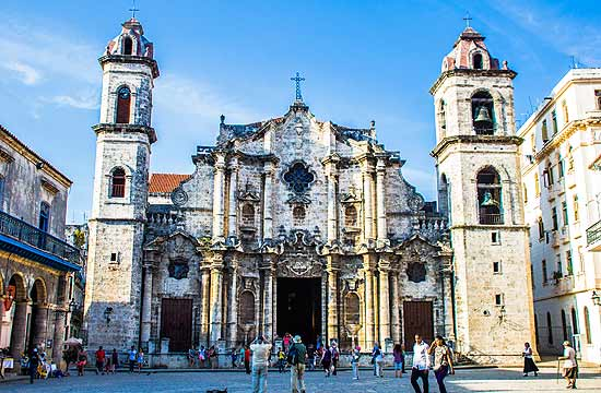 Havana Cathidral: The Cathedral of The Virgin Mary of the Immaculate Conception