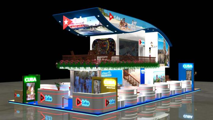 New stand launched by Cuba at FITUR to promote its destination.