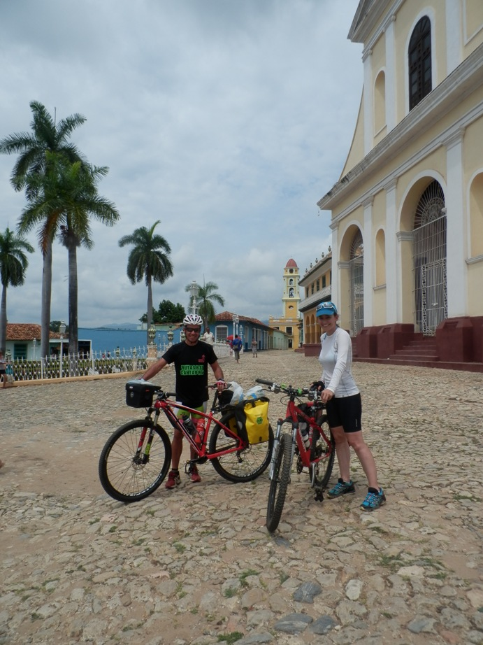Bicycle tour through Trinidad, Santi Spiritus