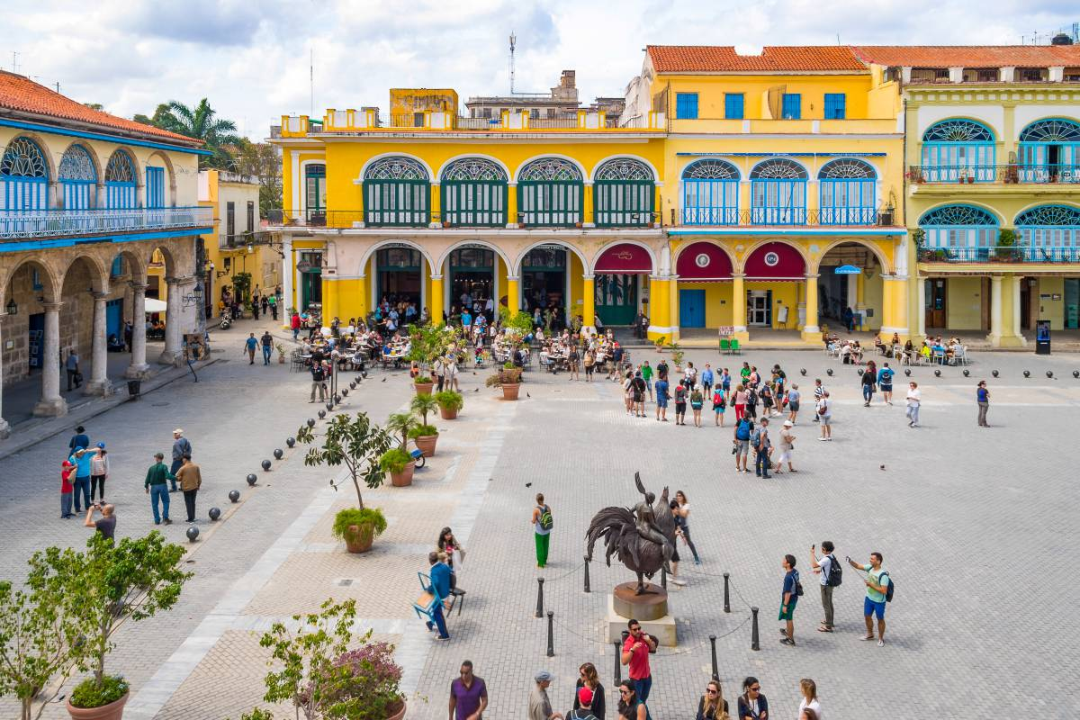 Plaza Vieja (Old Square), Old Havana, Historic Center, Havana, Cuba