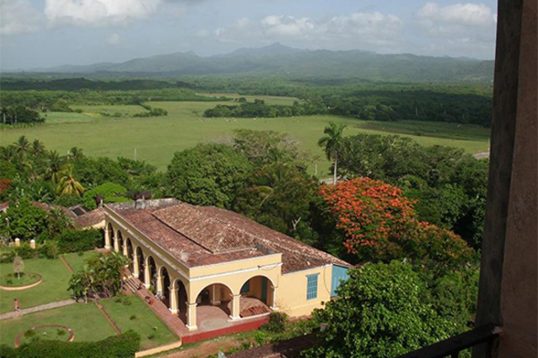 Guachinango plantation house, Sugar Mill Valley, Trinidad, Sancti Spiritus, Cuba.