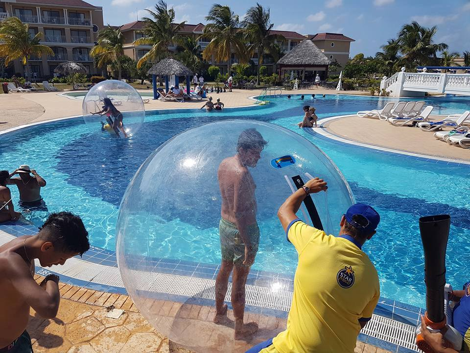 The Iberostar Laguna Azul Enjoys A Privileged Seafront Location On Varaderos Beaches Just 106 Miles From City Center And 25