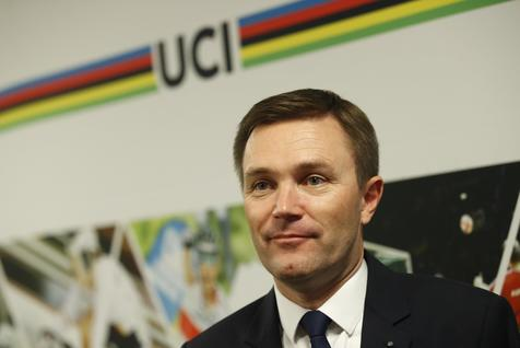 David Lappartient president of the International Cycling Union, UCI