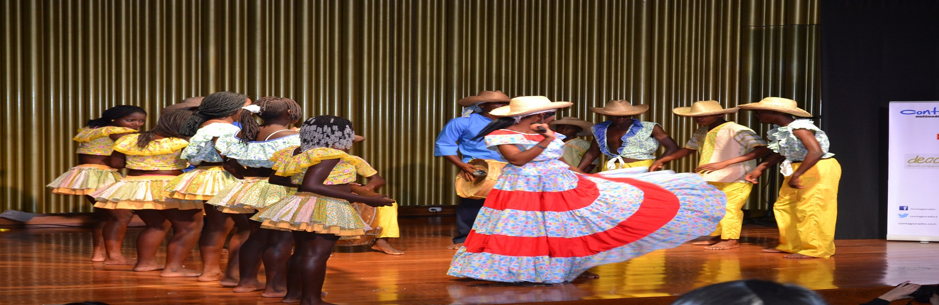 Dance group at Artemisa´s theater, Cuba Travel