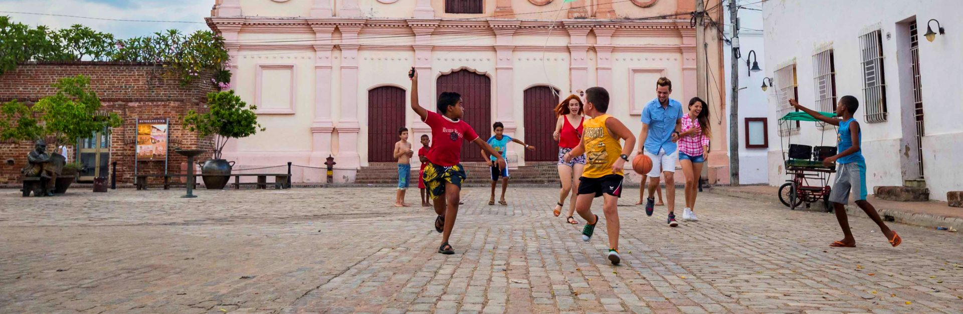 Kids playing, Camagüey, Cuba