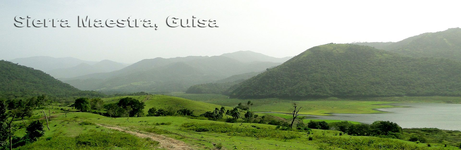 Landscape of the Sierra Maestra, Guisa, Granma, Cuba Travel