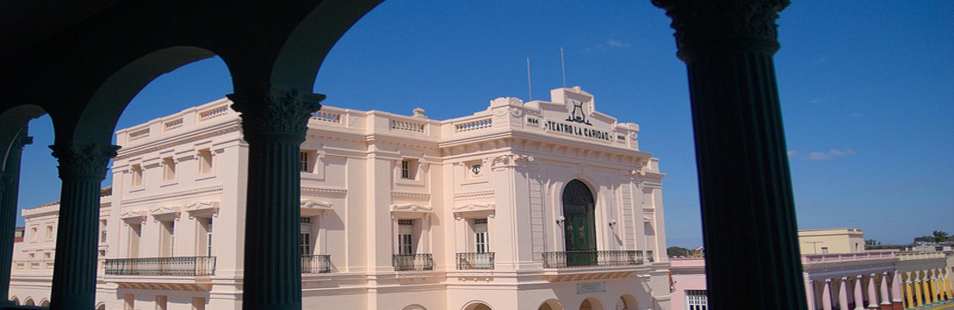 La Caridad Theater, city of Santa Clara.