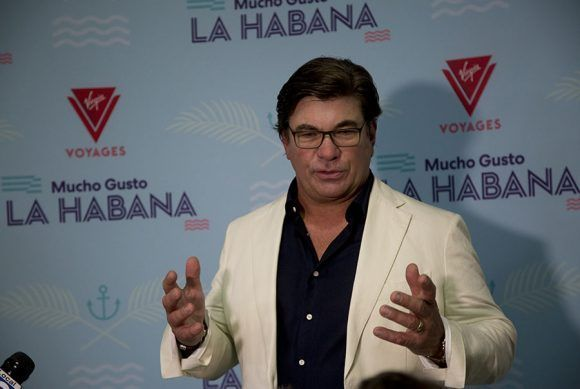 Tom McAlpin, presidente de Virgin Voyages