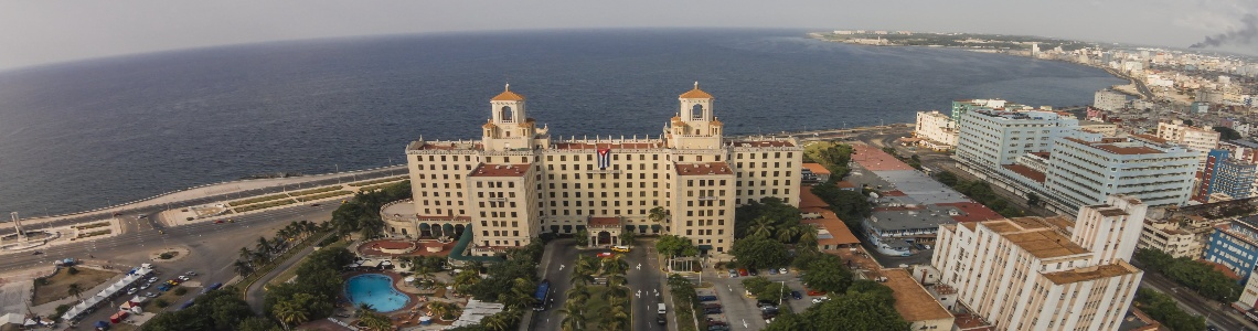 Surroundings of the Hotel Nacional de Cuba, Havana